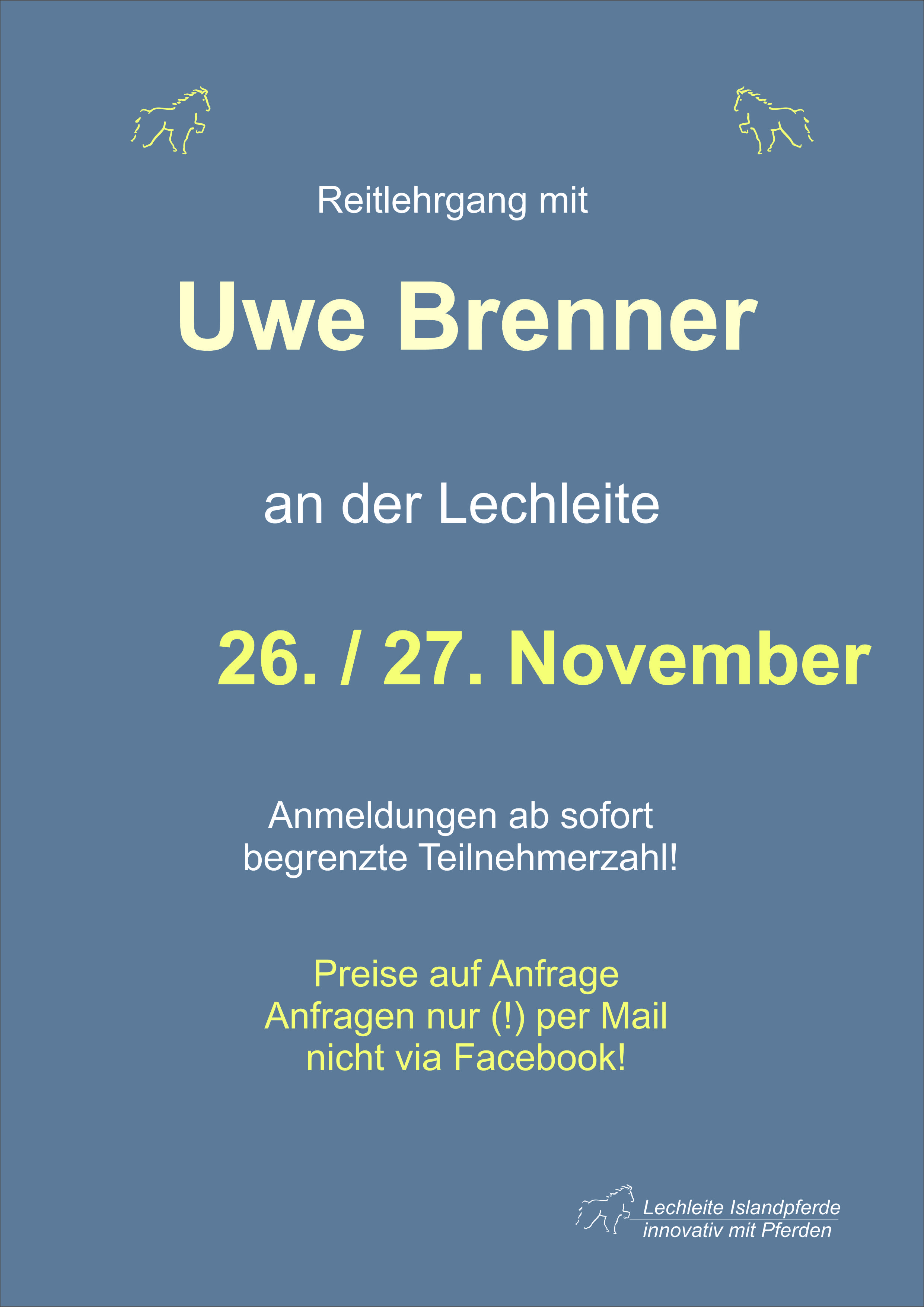 Uwe Brenner – Lehrgang
