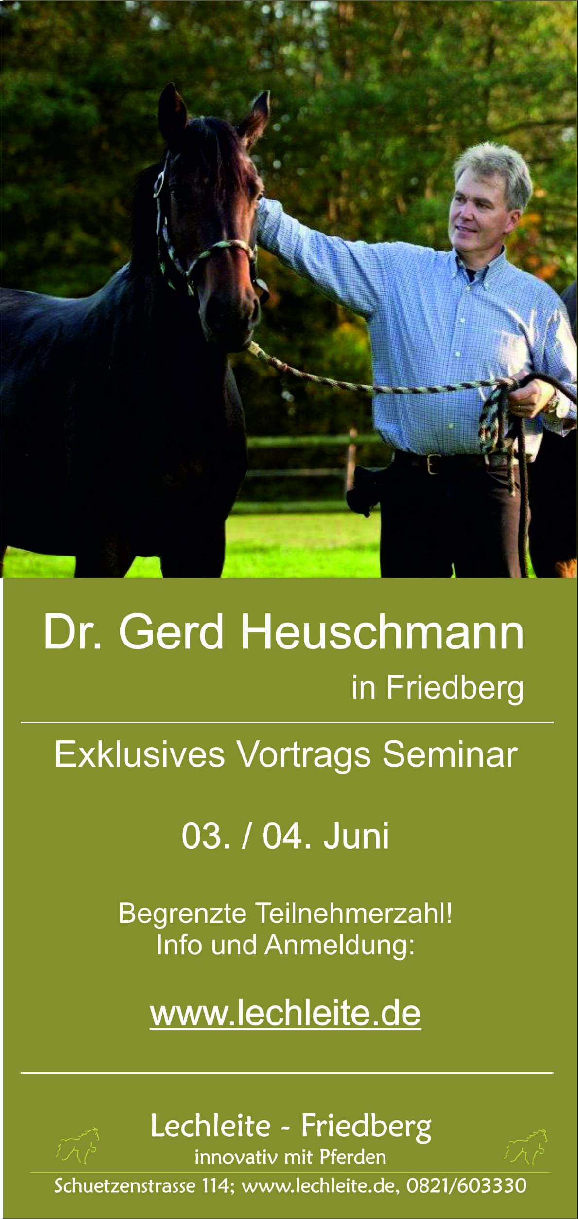 Seminar / Trainer Fortbildung mit Dr. Heuschann