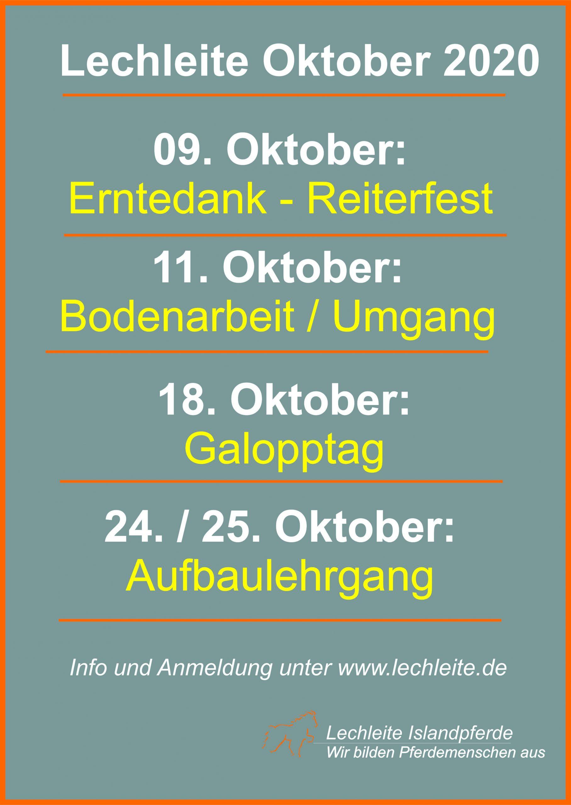 Lechleite im Oktober